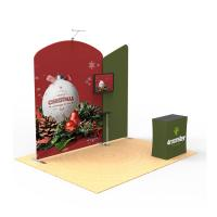 Buy cheap Foldable Trade Show Booth Displays 10x10 Custom Printed Solid Reusable from wholesalers