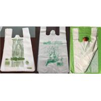Buy cheap OEM Cornstarch Biodegradable Bags supermarket shopping bags product