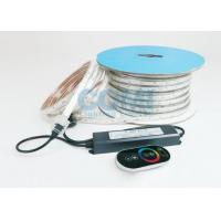 Buy cheap 6W / M 5050 RGB Trip Chip High Voltage LED Strip Light IP67 With AC RGB Controller from wholesalers