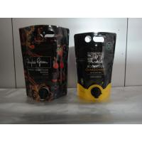 Wholesale Laminated Material Printed Stand Up Pouch With Spout / Juice Or Wine Bag In Box from china suppliers