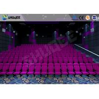 Wholesale Sound Vibration Cinema 3D Movie Theater System With Shock Effects Seats from china suppliers