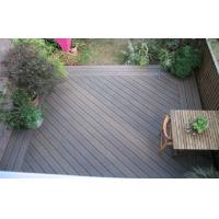 Buy cheap Engineered WPC Decking Flooring With Grain Surface For Outdoor Decoration from wholesalers