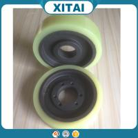 High Quality Factory Supplied Polyurethane Material 95 Shore A pu rubber wheels 16 inch