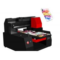 Buy cheap High Precision A3 Custom Cell Phone Case Printer Intelligent Self Protect System from wholesalers