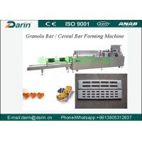 Buy cheap Automatic rice cake / sugar cereal Bar Forming Machine with capacity 350~500kg per hour from wholesalers