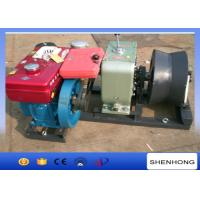 Buy cheap Lightweight Belt Driven Cable Winch Puller 400mm Diameter Cable Roller from wholesalers