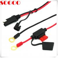 Buy cheap Auto Battery Cable Extension , 12v Battery Cable With Sae 2 Pin Connector Plug from wholesalers