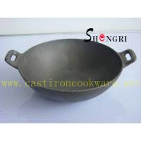 Wholesale cast iron&enamel wok from china suppliers