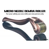 Buy cheap Gold Handle Micro Needle Derma Roller for Body  /  Facial Aesthetic Skin Care from wholesalers