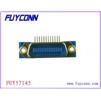 Buy cheap PBT Female Centronics 24 Pin Male Right Angel PCB Connector from wholesalers