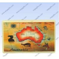 Buy cheap Ceramic map Magnet from wholesalers