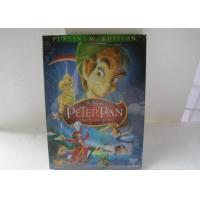 Buy cheap 2018 Hot sell Peter Pan disney dvd movies cartoon dvd movies kids movies with slip cover case drop shipping from wholesalers