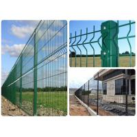 Buy cheap Pvc Coated Welded Wire Mesh Fence For Park / Garden / Sports Ground Safety from wholesalers