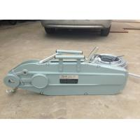 China Hand Operated 0.8 - 5.4T Wire Rope Hand Winch Hoist Lever 20 meter on sale