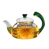 Buy cheap Smooth Surface Clear Glass Teapot Modern 600ml / 20oz Glass Kettle Teapot from wholesalers