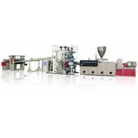 Buy cheap 10 to 15mm PE Pp PVC Sheet Extrusion Line Machine from wholesalers