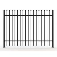 Buy cheap 8' tall steel fence from wholesalers