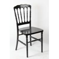 Buy cheap Black Color PolyCarbonate Resin Napoleon chair / waterproof durable Acrylic  Chair from wholesalers