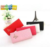 Buy cheap Zipper Diamond Hand Bag Ladies Leather Business Bags Women's Wallet from wholesalers
