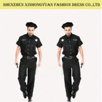 Buy cheap Custom Police Man Halloween Costume Police Officer Uniform For Adults from wholesalers