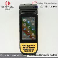 Buy cheap Barcode Label Android Wifi Printer With 4500mah High Capacity Battery from wholesalers