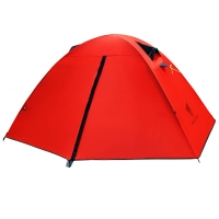 Buy cheap 1-2 Person Custom Waterproof Camping Tarps Spring Summer Autumn 3 Season Dome House Canvas Tent from wholesalers