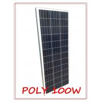 Wholesale Anti Reflective Glass 100w Polycrystalline Solar Panel High Light Transmission from china suppliers