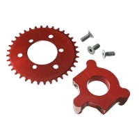 Buy cheap Aluminum AL5052 0.01mm Four Axis Bike Sprocket Parts from wholesalers