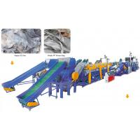 Buy cheap Waste Plastic Pe Pp Film Washing Line/recycling Machinery from wholesalers