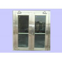 Wholesale Cheap 1.5 Hours 55 mm Class A Stainless Steel Fire Rated Glass Doors For Hospital/ Opening Force 66 N from china suppliers