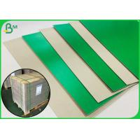 Buy cheap 1.2MM Green Colored Book Binding Board For Making File Box Or File Holder from wholesalers