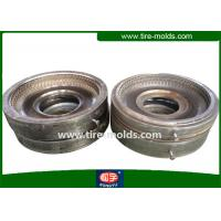 High Polish Semi Steel Tire Mould Two Piece Mould 1 Year Warranty