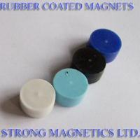 Buy cheap Rubber Coated NdFeB Magnets from wholesalers
