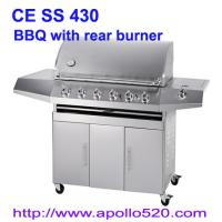 China Gas Barbeque with Rear Burner on sale