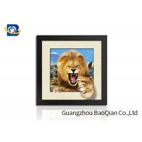 Buy cheap Animal 3D 5D Photography , Lenticular Image Printing Home / Bedroom Wall Art Decor from wholesalers
