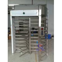 Indonesia Prison high full height turnstile barrier one track entrance Manufactures