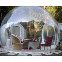 Buy cheap Outdoor Custom Made Inflatable Bubble Tent Transparent Camping Carpa Burbuja Pvc from wholesalers