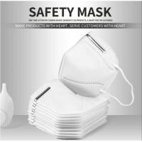 Buy cheap Medical KN95 Masks Anti-virus, Protects the mouth, Folding Prevent PM2.5 Dust Protective from wholesalers
