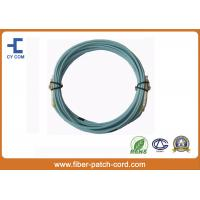 Buy cheap LC OM3 Duplex Fiber Optical Patch Cord LSZH jacket High Return Loss from wholesalers