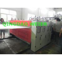 Buy cheap 10mm Thickness PP Hollow Grid Plastic Board Production Line Water Cooling from wholesalers