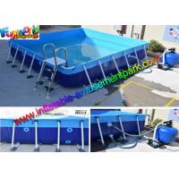 Buy cheap 2015 Summer Necessities Inflatable Water Pools Above Ground Frame Swimming Games from wholesalers