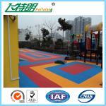 Wholesale Interlocking Rubber Floor Tiles Tennis Court Polyurethane Sports Flooring High Performance from china suppliers