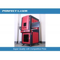 Buy cheap Portable Mini Fiber Laser Etching Machine With Safe Fullcolsed Cabinet , CE / ISO from wholesalers