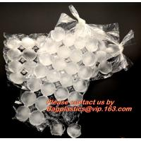 Buy cheap BPA Free Custom Ice Cube Maker, Disposable Polyethylene Pe Plastic Ice Cube Bags, Selfsealing Ice Cube Packaging Bag from wholesalers