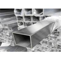 Buy cheap 2 Inch Chrome Plated Stainless Steel Square Pipe Metal Color Accurate Dimensions from wholesalers