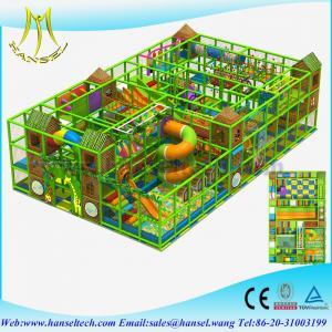 Hansel children soft play playground equipment zip line playground equipment Manufactures