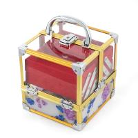Wholesale Customized Acrylic Portable Plastic Cosmetic Box / Jewelry Clear Plastic Makeup Storage from china suppliers