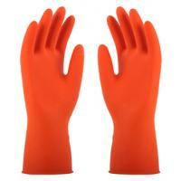 Buy cheap Flocklined Rubber Household Latex Glove With BV Cetification from wholesalers
