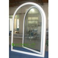 Wholesale UPVC Windows For ResidentialHome, Double Glazed Arched Casement Window, Waterproof  Vinyl Windows For Sale from china suppliers