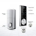 Buy cheap Fingerprint Door Lock Zinc Alloy Gate Door Lock Finger Identification Size 150mm*60mm from wholesalers